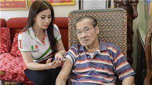 Lý Hương kể việc làm chuyên gia điều dưỡng cho NSND Lý Huỳnh ở năm tháng cuối đời