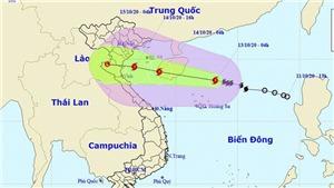 Bão số 7 gây giógiật cấp 11 tại vùng biển các tỉnh Đồng bằng Bắc Bộ, Bắc Trung Bộ