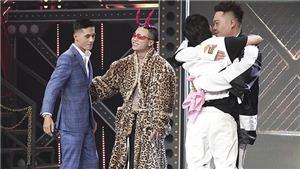 'Rap Việt': Binz tiếp tục bại trận trước sự cao tay của Karik