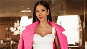 Hoàng Thuỳ xuất hiện nổi bật, 'chặt chém' các đối thủ Miss Universe trên đất Mỹ