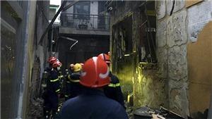 Thành phố Hồ Chí Minh: Hỏa hoạn tại căn nhà trong hẻm sâu, 8 người tử vong