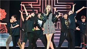 Hoàng Thuỳ Linh mang vũ đoàn hùng hậu đến Bán kết Hoa hậu Hoàn vũ Việt Nam 2019