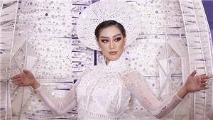 Hoa hậu Hoàn vũ Việt Nam Khánh Vân mang 'Kén em' sang Mỹ