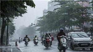 Từ ngày 3-12/10, các khu vực đều có mưa và dông, đề phòng xảy ra lốc sét