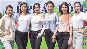 Hoa hậu Phương Khánh, Trúc Diễm, Diễm Hương trồng cây tại Lâm Đồng