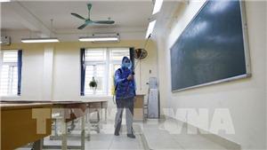 Các trường học Hà Nội nghiêm túc phòng chống dịch Covid-19 sau nghỉ lễ
