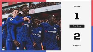 Arsenal 1-2 Chelsea: Thầy trò HLV Frank Lampard ngược dòng ngoạn mục
