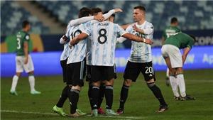 Argentina 4-1 Bolivia:  Messi rực sáng, Argentina khẳng định tư cách ứng viên vô địch Copa America