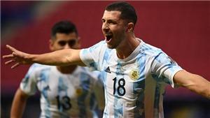 Argentina 1-0 Uruguay: Messi rực sáng, Argentina thắng trận đầu ở Copa America
