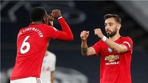 Kết quả bóng đá MU 5-2 Bournemouth: Quỷ đỏ tạm thời đánh bật Chelsea khỏi top 4