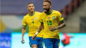 Brazil 3-0 Venezuela: Neymar tỏa sáng, Brazil thắng dễ Venezuela
