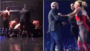 VIDEO: Britney Spears hoảng hồn vì fan cuồng tấn công trên sân khấu