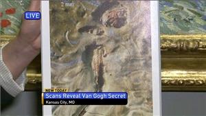 Chú châu chấu 'ngự' trên siêu tranh của Van Gogh hơn 1 thế kỷ