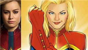Ngắm hình ảnh đầu tiên của Brie Larson trong vai nữ siêu anh hùng Captain Marvel