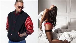 Rihanna gợi cảm quảng cáo nội y, 'tình cũ' Chris Brown nóng mắt