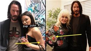 'Sát thủ yêu chó John Wick' Keanu Reeves được khen hết lời vì luôn làm điều này khi chụp với phụ nữ