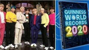 Sách Kỷ lục Guinness hé lộ hình ảnh của BTS trong ấn bản mới nhất