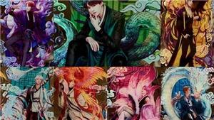 Ngắm loạt tác phẩm nghệ thuật siêu chất về BTS do ARMY dày công thực hiện