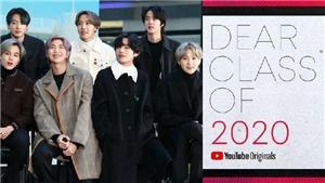 BTS biểu diễn trong 'buổi lễ tốt nghiệp' ảo của Youtube