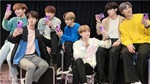 BTS kết hợp Samsung tung phiên bản điện thoại siêu xịn sò