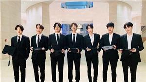 BTS vinh dự nhận giải thưởng từ UNICEF