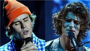 AMA 2020: Nghe Justin Bieber và Shawn Mendes khoe giọng hát thiên thần