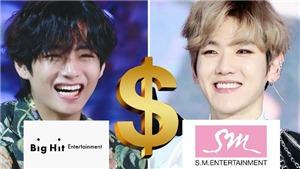 Top công ty giải trí Hàn ăn nên làm ra nhất 2020: BigHit kiếm bộn tiền nhờ BTS, TXT