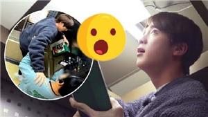 Jin chứng minh đẳng cấp khi chơi trốn tìm với BTS