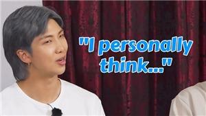 BTS thú nhận bất ngờ khi phải nêu khuyết điểm bản thân