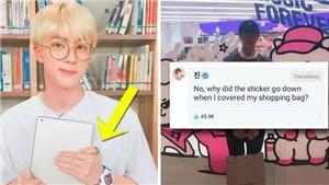 Những khoảnh khắc BTS thất bại khi cố gắng che tên thương hiệu
