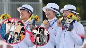 Đội Olympic Hàn không thể nghe nhạc BTS lúc nhận huy chương vì lý do này