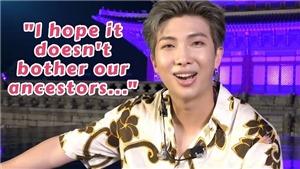 RM BTS hào hứng kể về lần đầu tham quan Cung điện Gyeongbokgung dưới ánh trăng