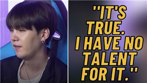 Nổi tiếng đa tài, Suga BTS vẫn phải thừa nhận chịu thua môn này
