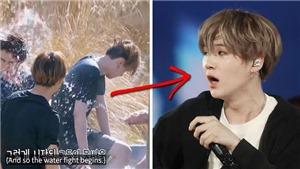 Suga 'thảm' thế nào khi tắm nước nóng cùng hội anh em BTS?