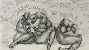 Chùm tranh biếm họa dự thi của họa sĩ Hà Huy Mười