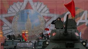 Tổng duyệt lễ duyệt binh mừng Ngày Chiến thắng tại Quảng trường Đỏ