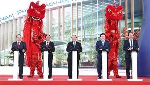 Thủ tướng Nguyễn Xuân Phúc khởi công Tổ hợp sản xuất ô tô VinFast của Vingroup tại Hải Phòng