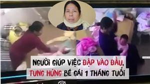 Clip người giúp việc hành hạ bé gái hơn 1 tháng tuổi khai báo trước cơ quan Công an