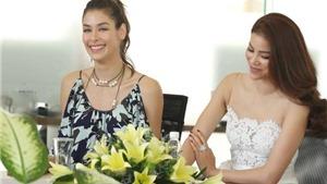 VIDEO: Hoa hậu Dayana Mendoza bật khóc khi nói lời cảm ơn bằng tiếng Việt