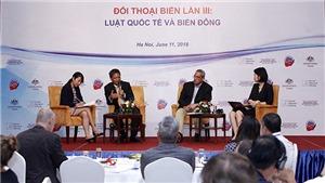 Đối thoại Biển lần thứ ba 'Luật quốc tế và Biển Đông' tại Hà Nội
