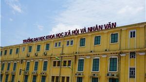 Trường ĐH KHXH&NV công bố điểm trúng tuyển đại học chính quy năm 2018