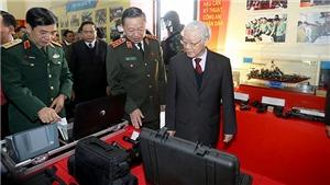 Tổng Bí thư, Chủ tịch nước Nguyễn Phú Trọng phát biểu chỉ đạo Hội nghị Công an toàn quốc