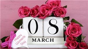 Thiệp chúc mừng ngày Quốc tế Phụ nữ 8/3 đẹp và ý nghĩa nhất