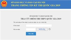 Tra cứu điểm thi THPT Quốc gia 2019 của thí sinh Hà Nội