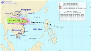 Bão số 4 giật cấp 11 đổ bộ từ Nghệ An đến Quảng Bình và tan nhanh