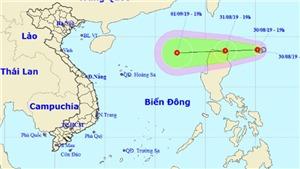 Dự báo thời tiết: Áp thấp nhiệt đới sát biển Đông khả năng mạnh lên thành bão số 5