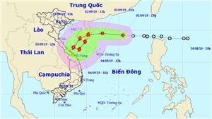 Bão số 5: Áp thấp nhiệt đới mạnh lên thành bão số 5 trong 24 giờ tới