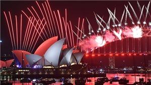 Tạm biệt 2019, chào mừng Năm Mới 2020 trên khắp thế giới