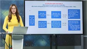 HTV2, HTV1: Học trên truyền hình Hà Nội kênh HTV2, học trực tuyến trên kênh HTV1 tuần từ 20 đến 25/4