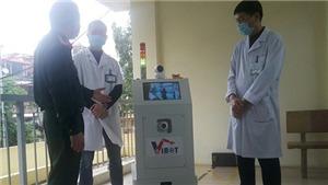 Dịch COVID-19: Chế tạo thành công robot vận chuyển trong các khu vực cách ly có nguy cơ lây nhiễm cao